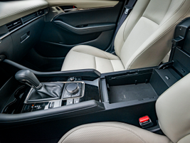 The transmission is a six-speed automatic.