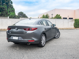 The base Mazda3 retails for $21,920.