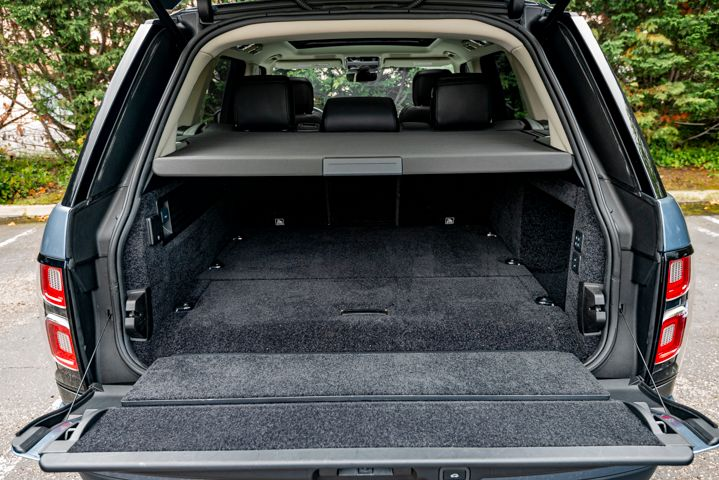 Here's another configuration of the liftgate.