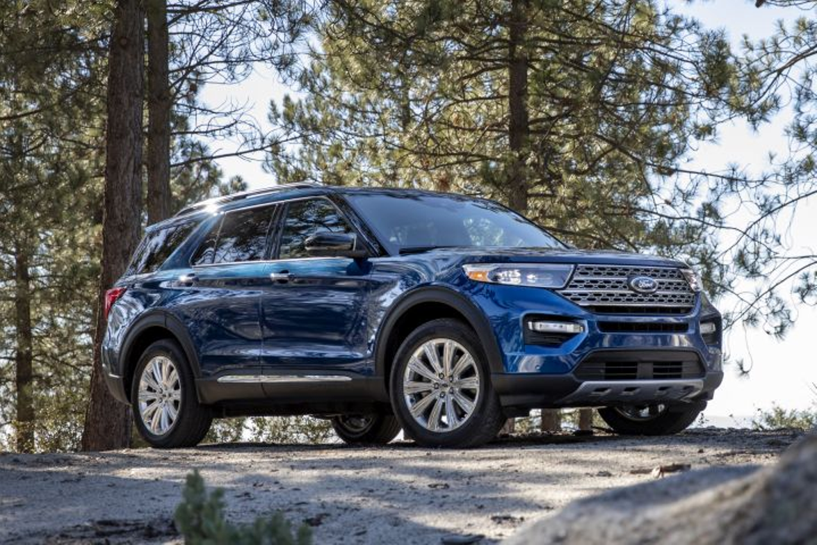 The 2020 Explorer arrives on a new rear-wheel-drive platform.