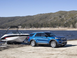 A new hybrid Explorer brings just as much capability as the gasoline model for towing and...
