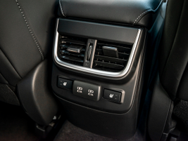 The Touring XT trim features heated rear seats for passenger comfort.