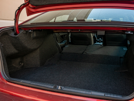 The trunk features 15.1 cu.-ft. of cargo space, slightly more than the previous year's model.