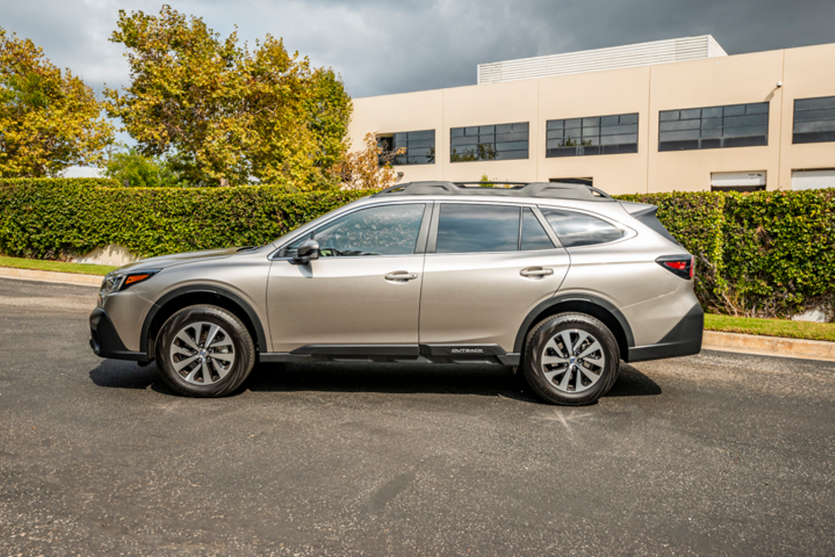 The 2020 Outback rides on a new platform and is 1.4 inches longer than its predecessor.