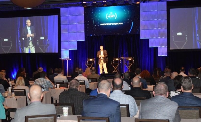 Bob White, president of ARI, helped kick off the beginning of the third annual ARI Best in Fleet...