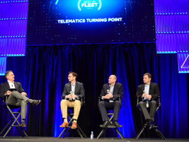 Following the presentation on telematics was a panel discussion on the addressing changes and...