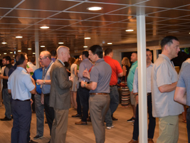 The second night of the conference closed out with an evening reception and dinner cruise aboard...