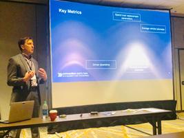 Chad Christensen, strategic consultant at Element, spoke on maintenance cost control strategies,...