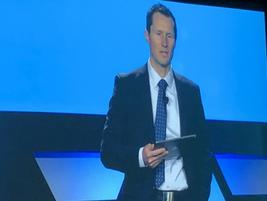 Chris Gittens, EVP mid-market sales for Element, hosted the presentation of the Element Impact...