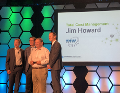 "The 2019 Element Impact Award tor ""Total Cost of Ownership"" was won by Jim Howard, Facilities &..."