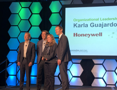 "The winner of the 2019 Element Impact Award for ""Organizational Leadership"" was Karla Guajardo,..."