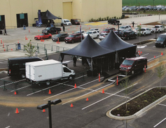 Attendees were given ample time to test drive a wide variety of Ford and Lincoln models on...