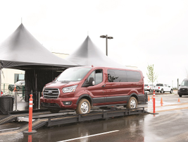 A new 10-speed automatic transmission is mated to every engine in the Transit lineup. Also a...