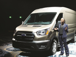 Malene Lane, fleet marketing manager, highlighted the versatility of the 2020 Transit citing the...