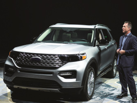 Mark Buzzell, Ford NAFLRO director, presented the 2020 Explorer ST. The Explorer ST is offered...