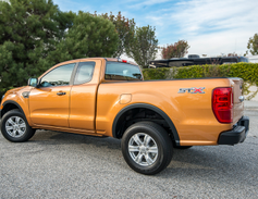 Our tested model is the rear-wheel-drive XL SuperCab with 6-foot box and 126.8-inch wheelbase....