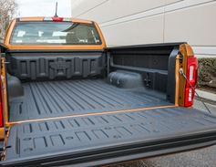 A spray-in bedliner is available for $495.