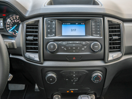 Base models come with a 4.2-inch dash screen, while the Lariat offers an 8-inch touchscreen.