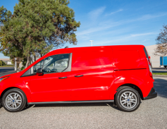Ford offers its Transit Connect in two wheelbases, including the long, 121-inch (shown) and...