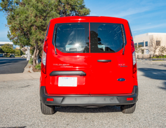 Fleets can order windows for the rear cargo doors.