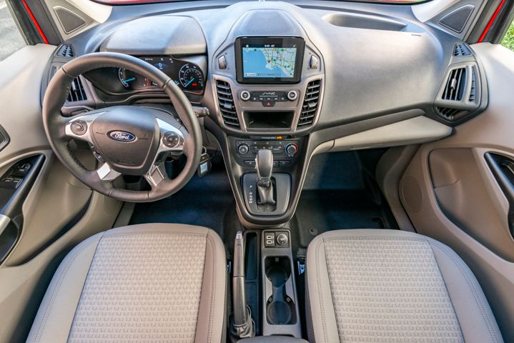 Ford's Sync3 infotainment system displays on an optional 6.5-inch touchscreen.