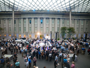 Ford Motor Co. held a customer reception at the Smithsonian National Portrait Gallery during its...