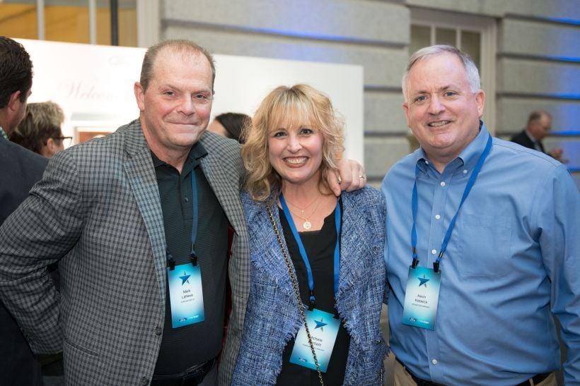 (l-r) Mark LaNeve, vice president, U.S. Marketing, Sales and Service; Michele Bartlettgeneral...