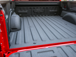 The spray-in bedliner option retails for $495.