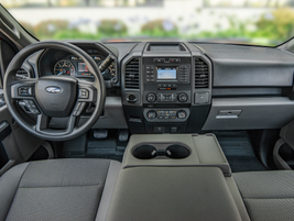 Commercial buyers can acquire the diesel engine with the F-150's base XL trim grade with dark...