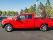The diesel F-150 is available with a 145-inch wheelbase (shown) or 156.8-inch wheelbase.