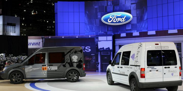 Ford announced it would bring the Transit Connect to the U.S. market at the 2008 Chicago Auto...