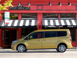 Ford's refreshed 2014 Transit Connect Wagon introduced two wheelbase lengths, five- and...