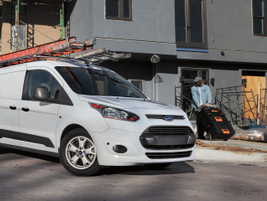 The 2015 Transit Connect could be ordered with or without second-row seating, and offered...