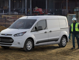 The flexible-fuel system became standard equipment on 2016 Transit Connect vans with 2.5-liter...