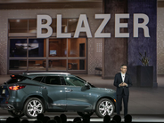 Chevrolet Blazer is an all-new midsize SUV with five-passenger seating. It has up to 64.2 cubic...