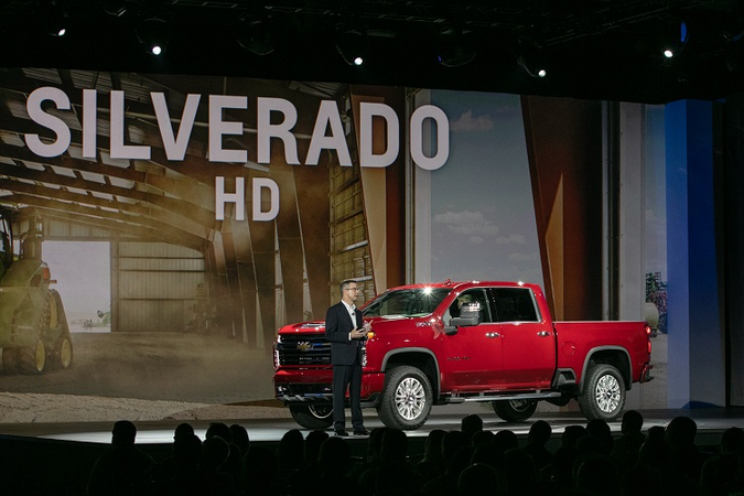 The all-new 2020 Silverado HD offers a choice of two powertrains: a new 6.6L gasoline engine and...