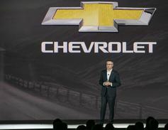 Paul Edward. U.S. VP, Chevrolet marketing, said the Chevrolet brand accounts for 80% of GM's...