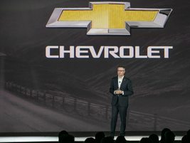 Paul Edward. U.S. VP, Chevrolet marketing, said the Chevrolet brand accounts for 80% of GM's...