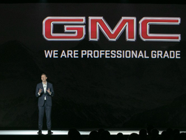 Duncan Aldred, VP Global Buick and GMC, reported total GMC sales increased 9% and the brand's...