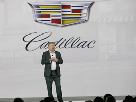 Rory Harvey, VP of sales, service & marketing for Cadillac, said the brand achieved record...