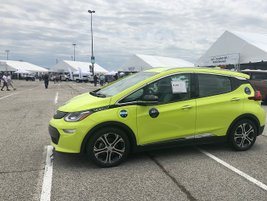 The Chevrolet Bolt EV has an EPA-estimated 238 miles of range on a full charge. Its advanced 60...