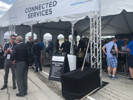 One pavilion was OnStar Connected Services, which includes a variety of services, such as...