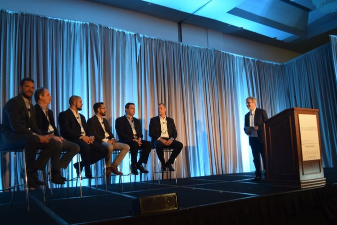 Pascal Serres, managing Partner, Moby-d, moderated a three-part, market report panel analyzing...