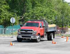 Fleet customers were able to experience the Chevrolet Silverado 6500HD Chassis Cab.
