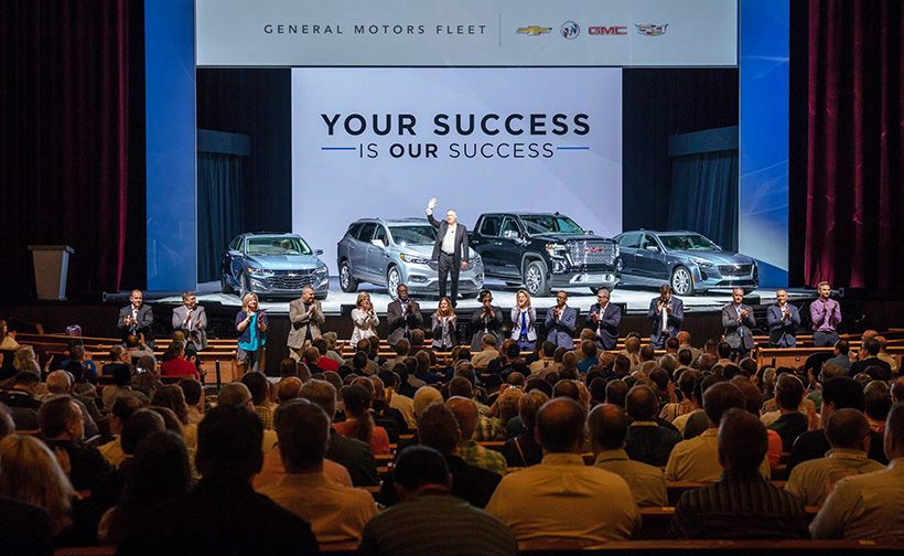 "Ed Peper and GM Fleet's team let customers know that ""Your Success Is Our Success."""