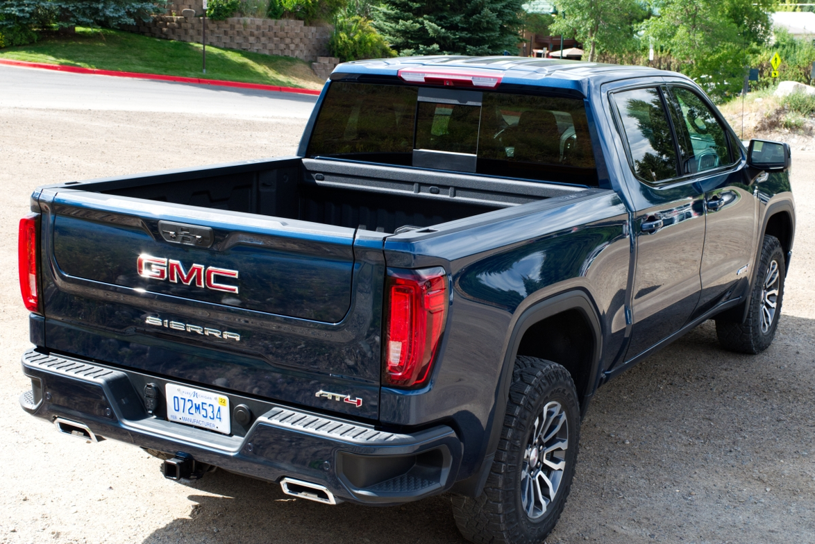 The 3.0L Duramax diesel engine on the 1500 is mated to a 10-speed automatic transmission. Max...