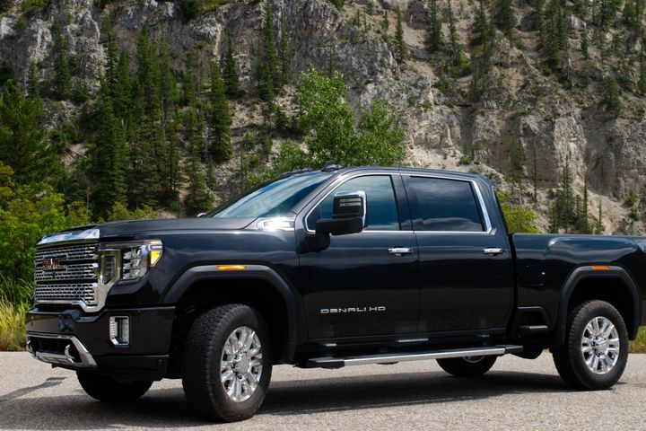 For fleets that are interested, GMC is offering factory installed power take-off Allison 10-speed transmission-equipped Sierra HDs.