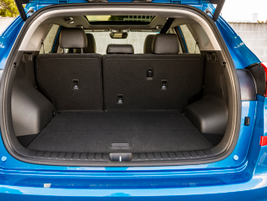 The 2019 Tucson offers 31 cubic feet ofcargo space.