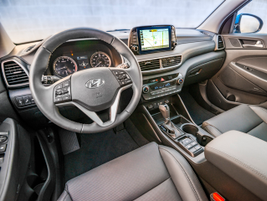 The near-luxury cabin includes an infotainment system with a 7-inch touchscreen, Apple CarPlay,...