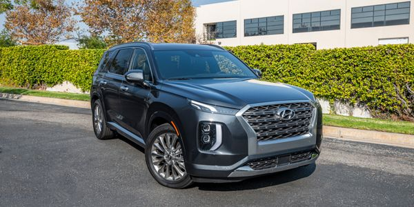 Hyundai's 2020 Palisade three-row SUV retails for $32,595 for the base model.
